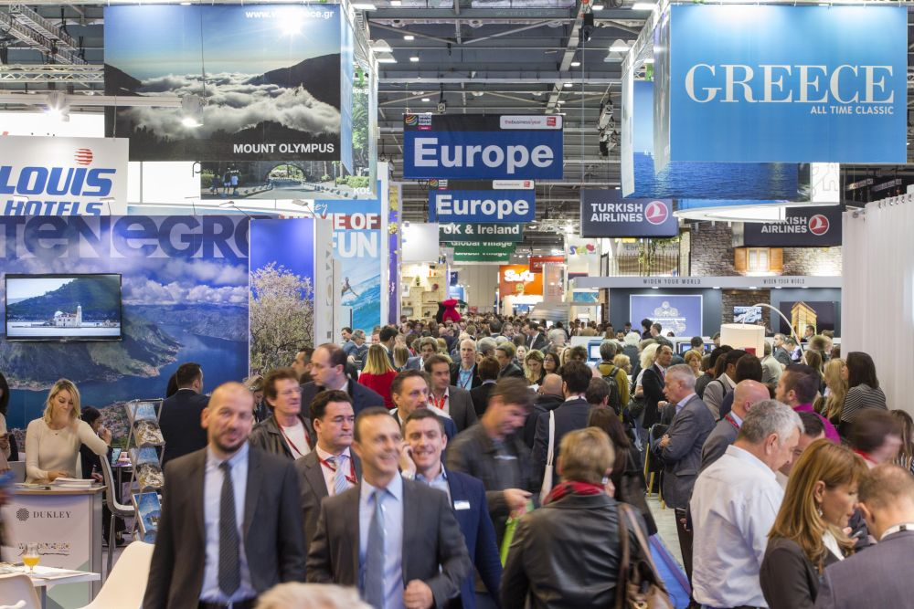 World Travel Market 2016, ExCeL London.