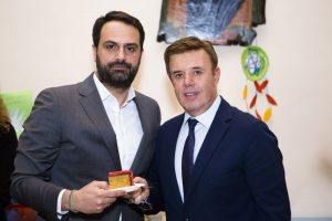 Manessis Travel's Angelos Lambrou (president and CEO) and Andreas Manessis (founder).