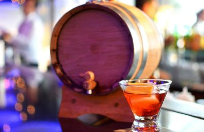 Barrel-aged Negroni.