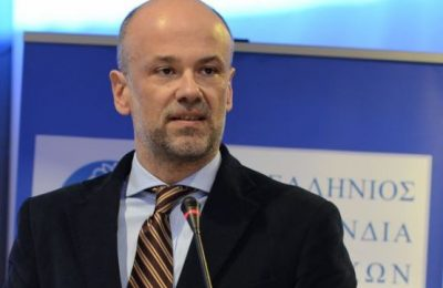 Hellenic Hotel Federation President Yiannis Retsos.