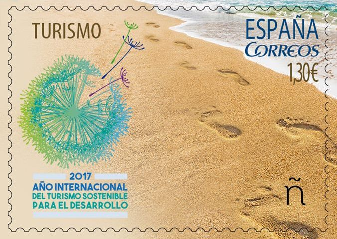 This Stamp Is One Of The Key Tools To Reach All Those Travelling In Spain And Engage Them Making A Positive Impact UNWTO Secretary General Taleb Rifai