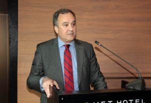 Thessaloniki Hotels Association President Aristotelis Thomopoulos.