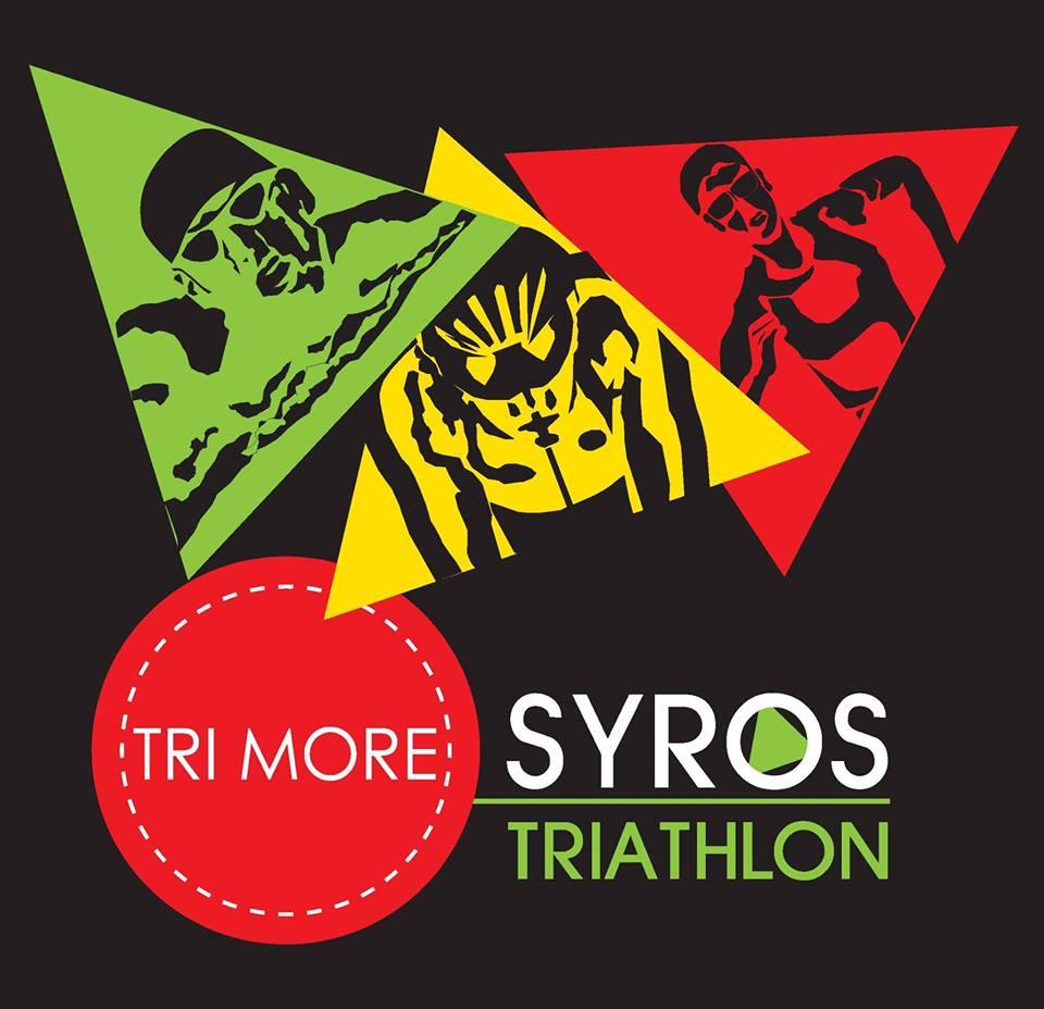 Trimore Syros Triathlon logo black
