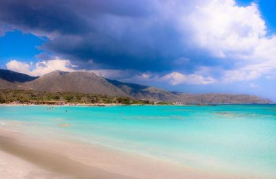 Elafonissi Beach on Crete is the 9th best beach in the world, according to TripAdvisor's 2017 Travelers' Choice Awards for Beaches.