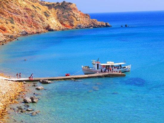 """The most beautiful beach I ever see!!"" - TripAdvisor Traveler review for Kleftiko Beach on Milos."