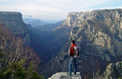 Vikos Gorge. Photo © Facebook - ΟΙ ΟΜΟΡΦΙΕΣ ΤΗΣ ΕΛΛΑΔΑΣ ΜΑΣ