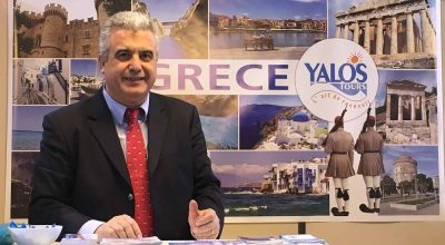 Yalos Tours General Manager Christos Panaretou.