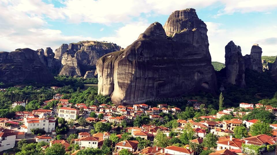 Village of Kastraki, Meteora.