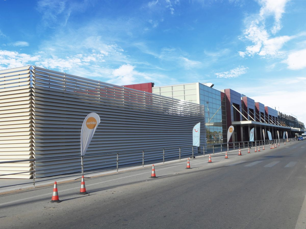 Impression of Chania Airport after revamp. Photo source: Fraport Greece