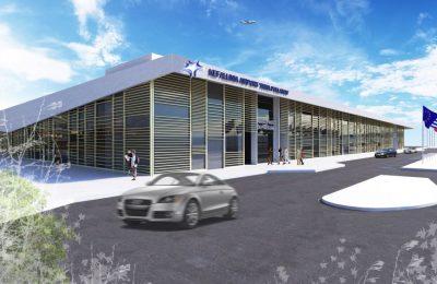 Impression of Kefalonia airport.