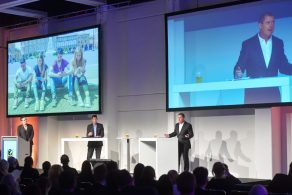 ITB Berlin 2017 - The Great Tourism Debate - Nick Hall, Founder and CEO, DTTT; Doug Lansky, International Tourism Thought Leader, Keynote Speaker, Travel Journalist and Author; Ted Sullivan, Vice President of Tourism and Resort Analytics, ADARA (l.t.r.).