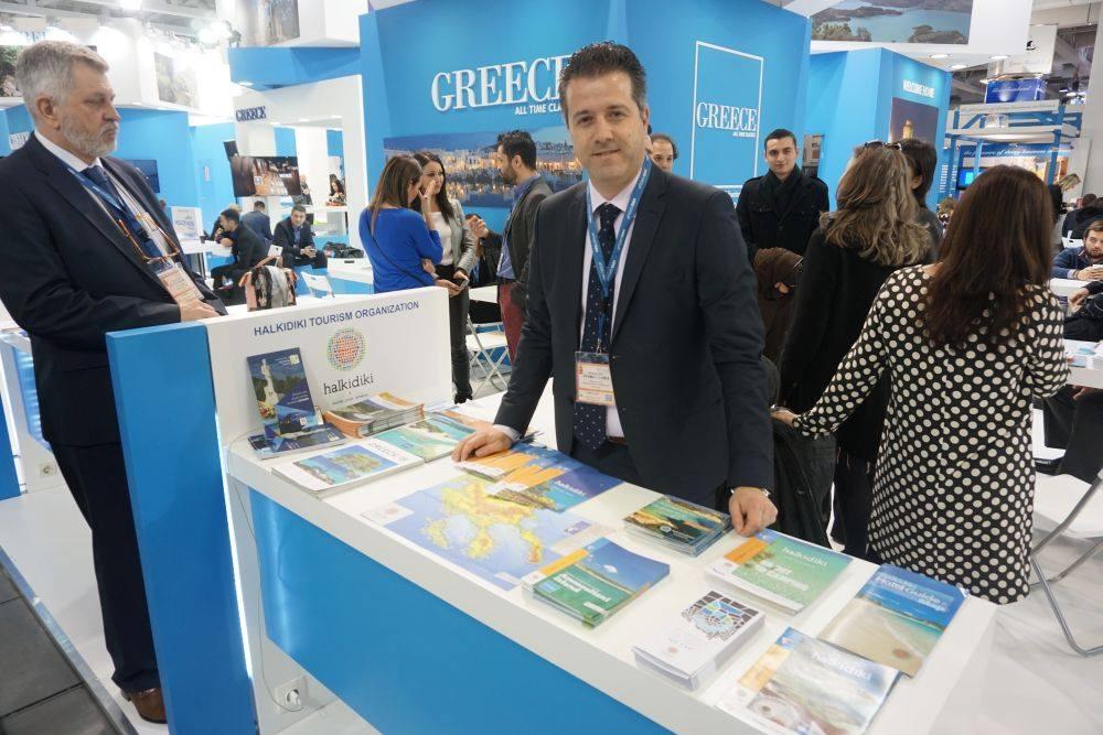 Halkidiki Tourism Organization/Halkidiki Hotel Association President Grigoris Tasios