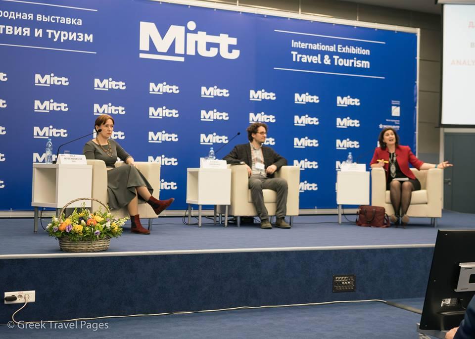 Mila Novichenkova, head of Marketing and Communications of Ipsos Comcon and Helene Lloyd, director of TMI consultancy.