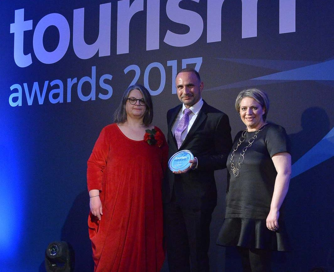 Tourism Awards 2017 - OUT OF THE BLUE, Capsis Elite Resort