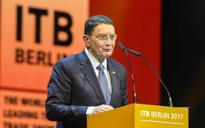 ITB Berlin 2017 - Eröffnungsfeier - Taleb Rifai, Generalsekretär, Welttourismusorganisation der Vereinten Nationen (UNWTO) ITB Berlin 2017 - Opening ceremony - Taleb Rifai, Secretary-General, World Tourism Organization (UNWTO)