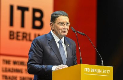 ITB Berlin 2017 - Eröffnungsfeier - Taleb Rifai, Generalsekretär, Welttourismusorganisation der Vereinten Nationen (UNWTO) ITB Berlin 2017 - Opening ceremony - Taleb Rifai, Secretary-General, World Tourism Organization (UNWTO)