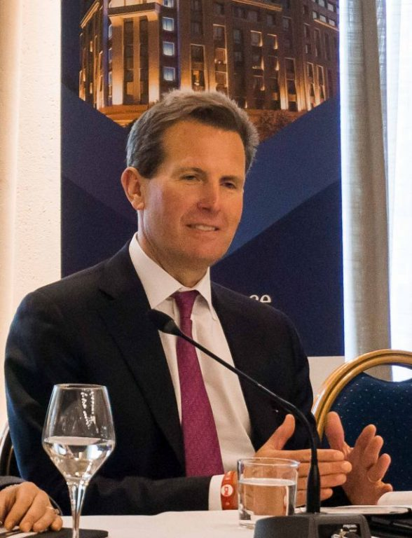 Geoff Ballotti, President and CEO of Wyndham Hotel Group.