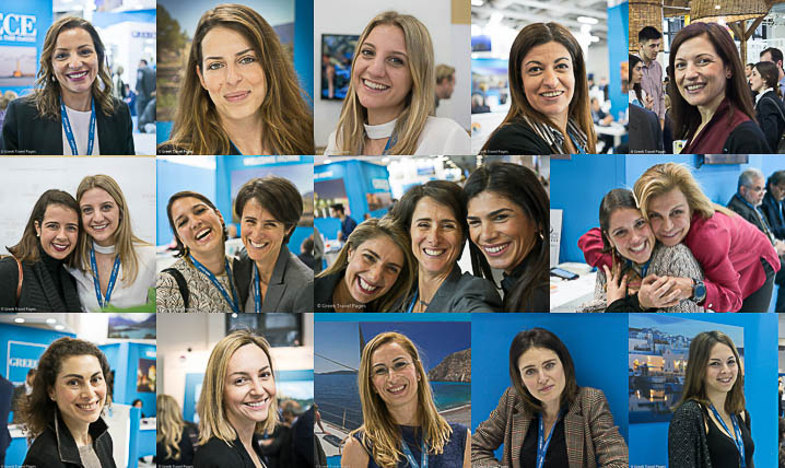 Greek Girl Power @ ITB Berlin on Int'l Women's Day