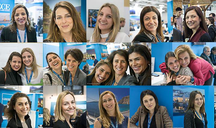 Greek Girl Power @ ITB Berlin on Int'l Women's Day