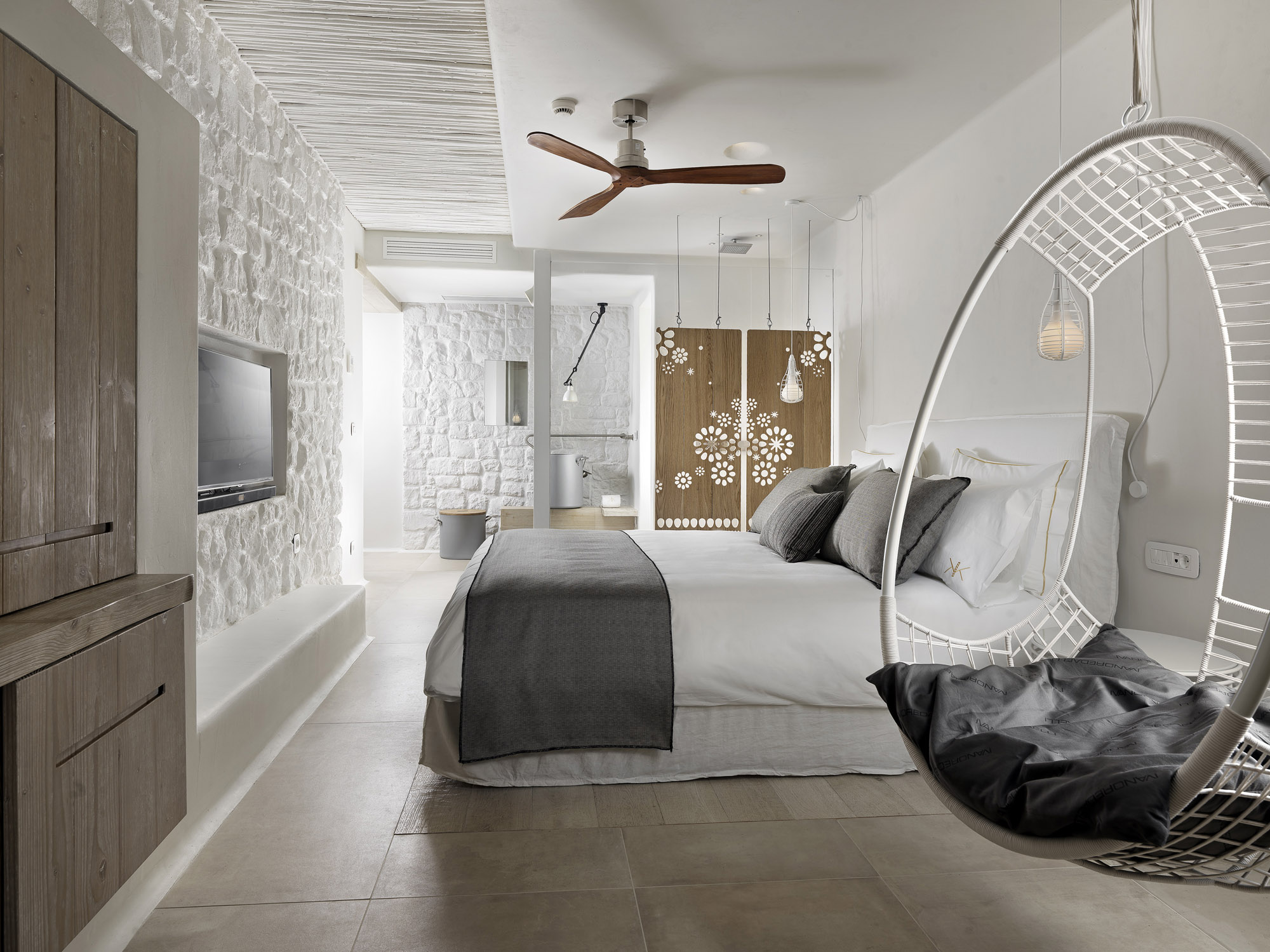 Kensh boutique hotel on mykonos gets ready for grand for Boutique hotel design