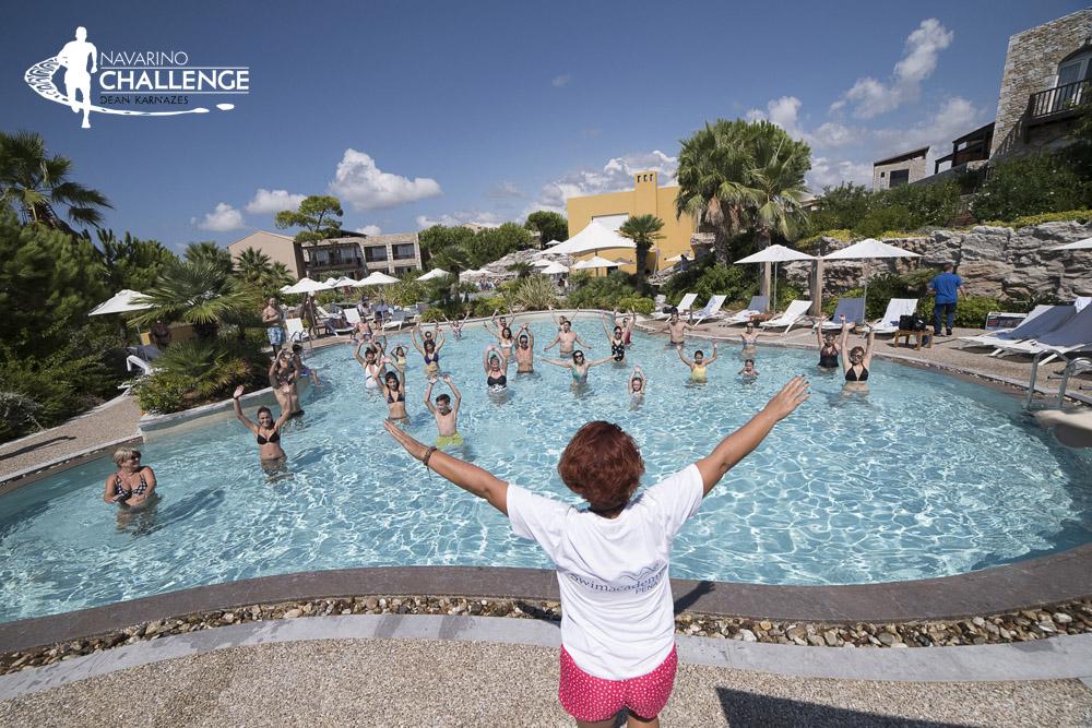 Aqua Aerobics. Photo by Vangelis Patsialos @ Navarino Challenge
