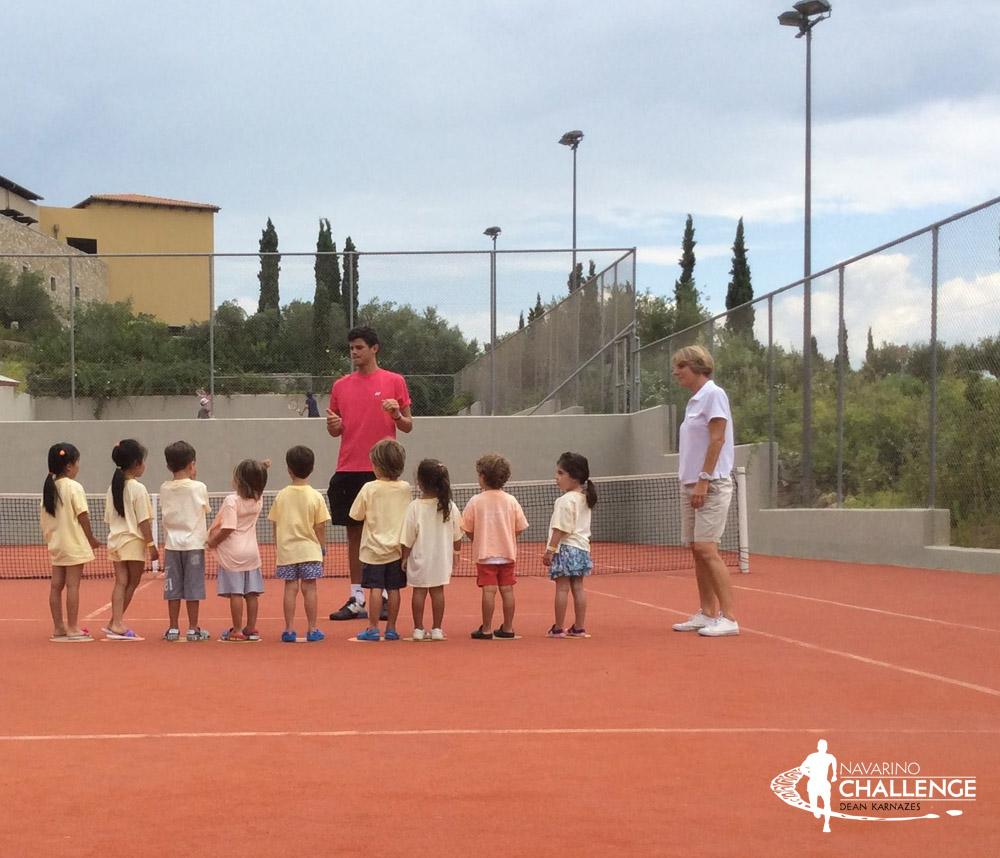 Tennis. Photo by Navarino Racquet Academy @ Navarino Challenge