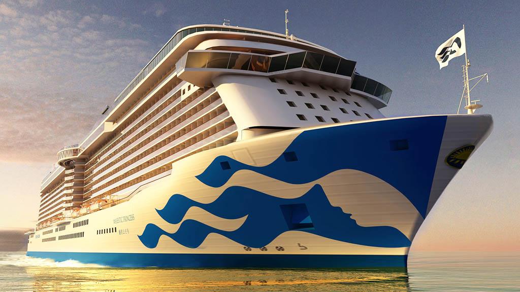 Piraeus To Welcome New Built Cruise Ship Majestic Princess - GTP Headlines