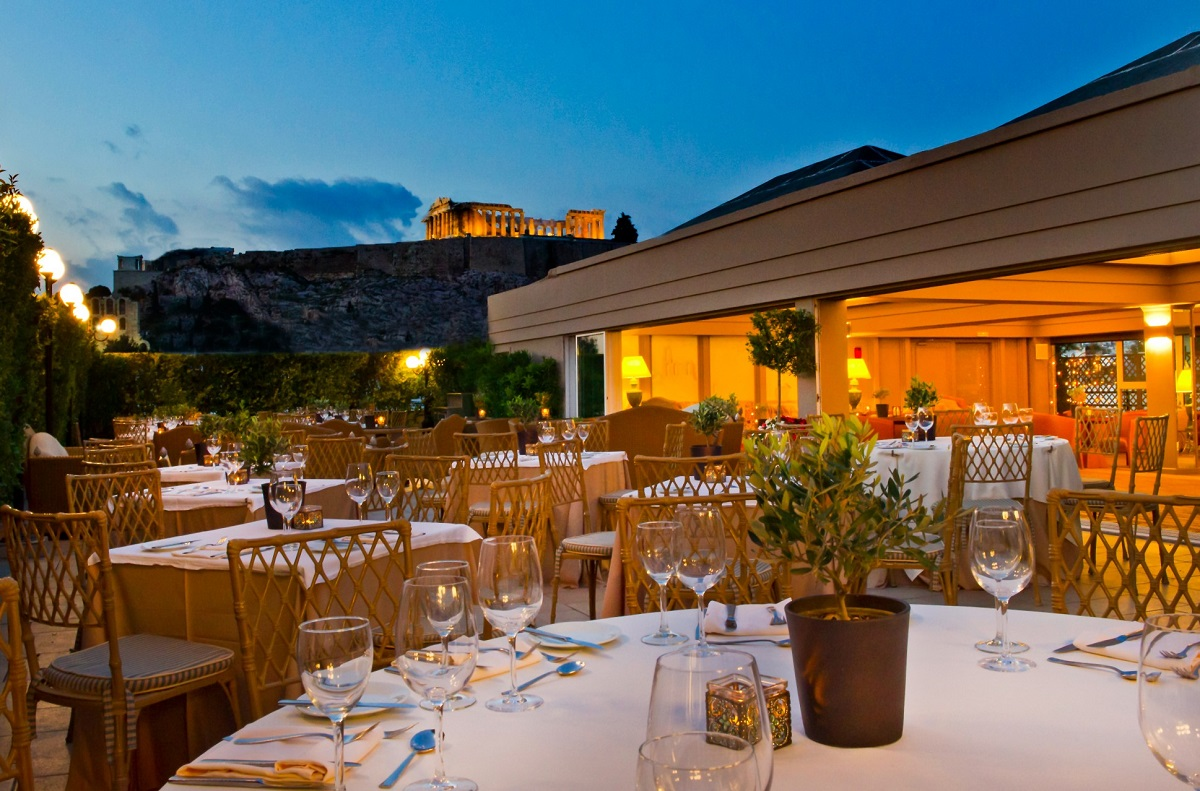 Divani palace acropolis 39 39 secret 39 restaurant reveals new for Acropolis cuisine menu