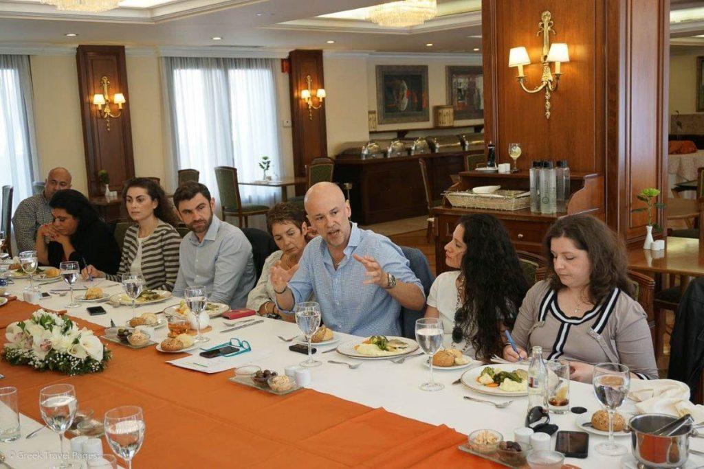 Hellenic Hotel Federation President, Yiannis Retsos.