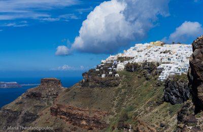 Santorini, ©Maria Theofanopoulou