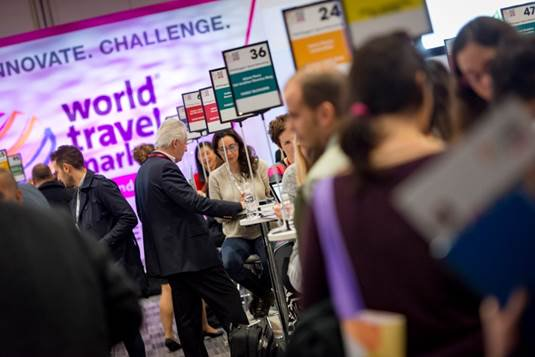 Speed Networking at WTM London 2016.