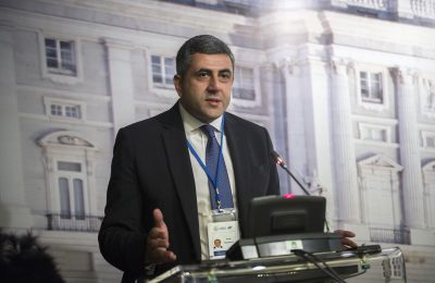 Georgian Candidate, Ambassador of Georgia to Spain Zurab Pololikashvili.