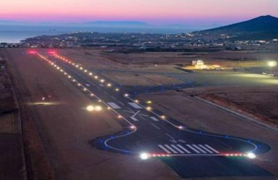 Paros Airport. Photo source: Hellenic Civil Aviation Authority