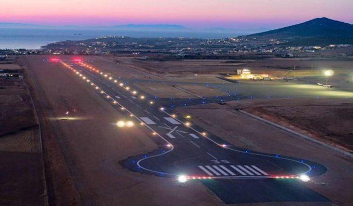 Paros Airport. Photo source: Hellenic Civil Aviation Authority