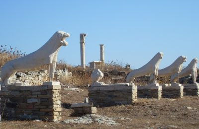 Terrace of Lions, Delos, Cyclades