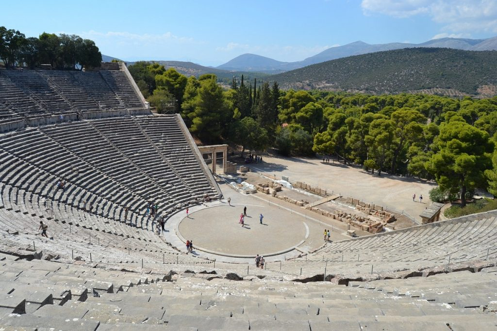 Greece its theatre