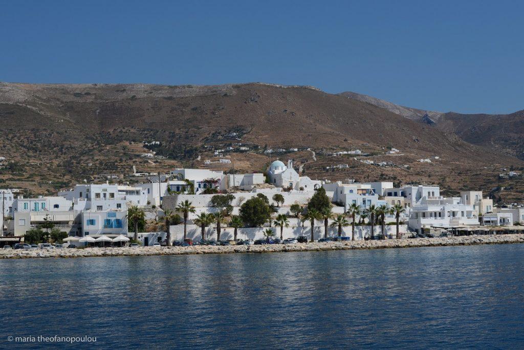 Parikia, Paros, © Maria Theofanopoulou