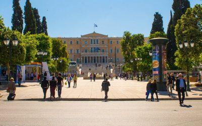 Syntagma Square, Athens © Maria Theofanopoulou