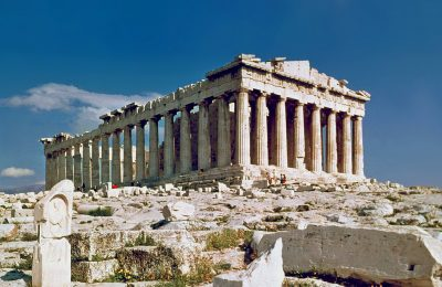 The Parthenon in Athens. Photo Source: Wikimedia
