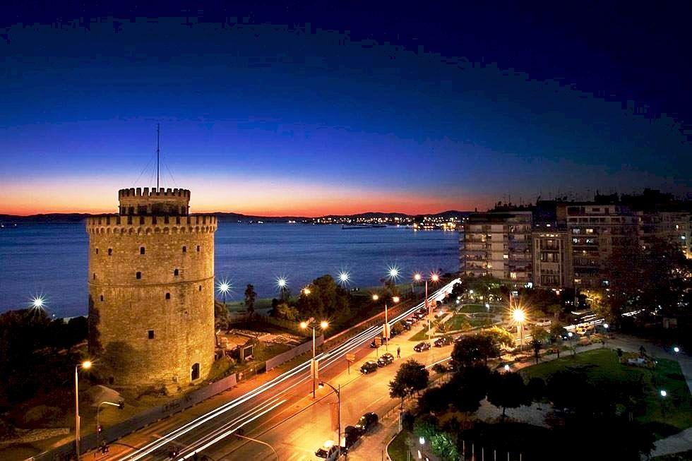 Thessaloniki in northern Greece.