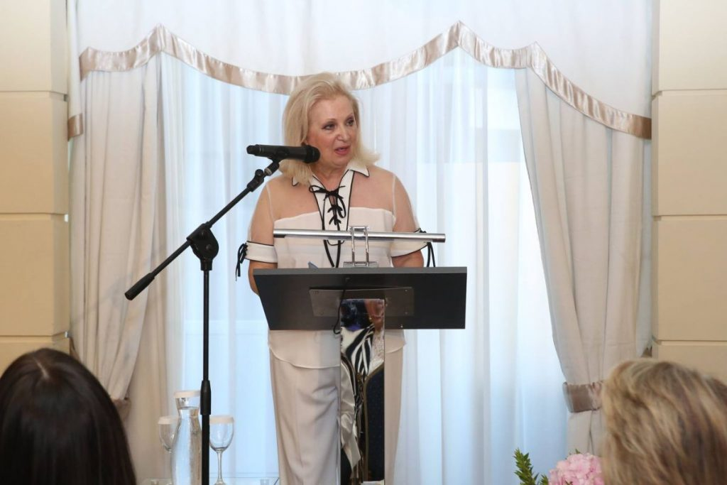 Association of Greek Women in Tourism President Irini Matzavelaki-Vassilopoulou.