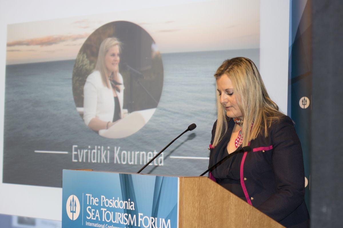 Evridiki Kourneta, Secretary General of the Ministry of Tourism