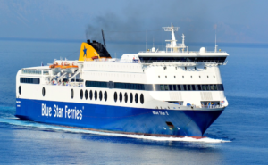 Blue Star Ferries Offers 30% Discount on Ferry Tickets to Four Greek
