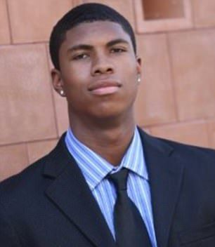 American Bakari Henderson died of massive head injuries following a brawl at Laganas.