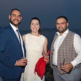 Chariton Brousalian, Sales & Marketing Manager, GTP; Alexandra Tziakou; Antonis Giannopoulos, Marketing Strategist & Educator.