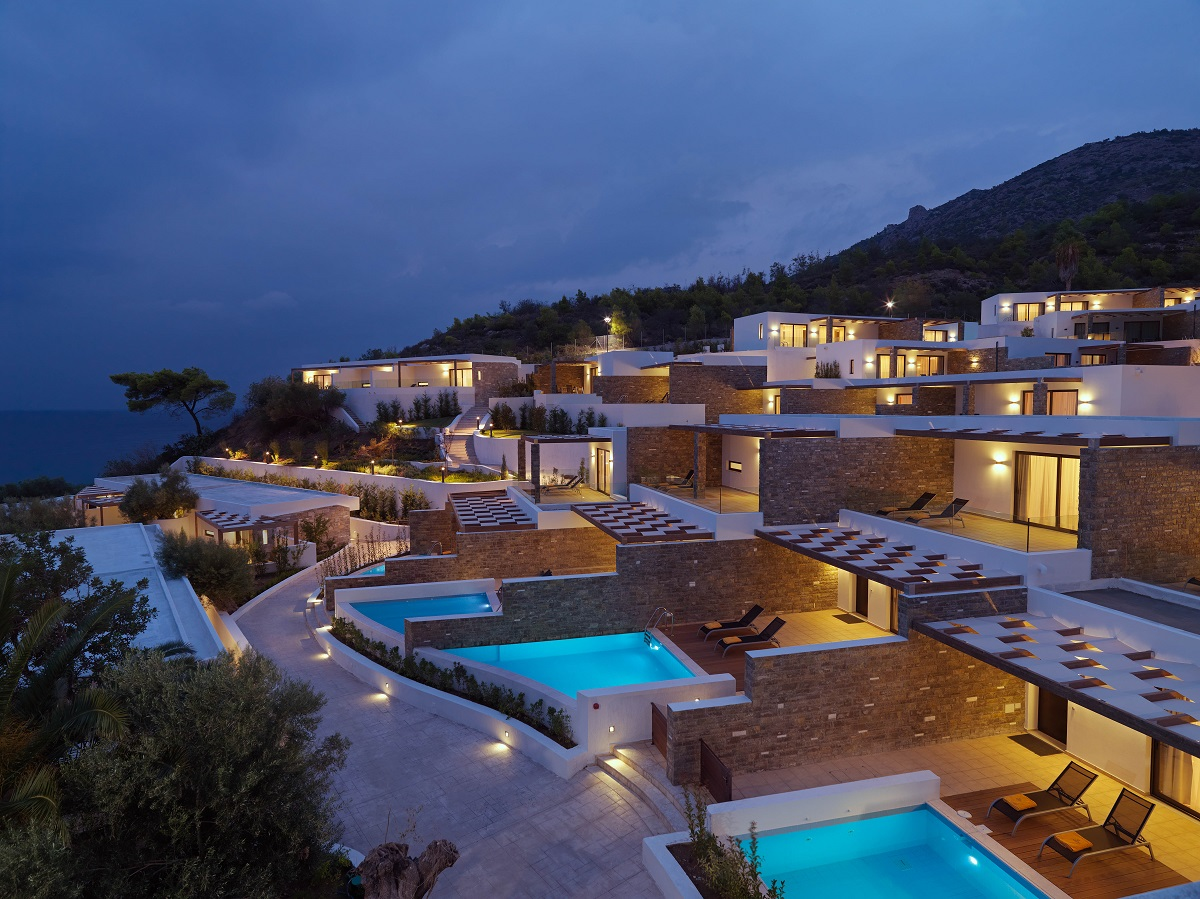 Wyndham Hotel Group and Zeus International have invested in Loutraki.