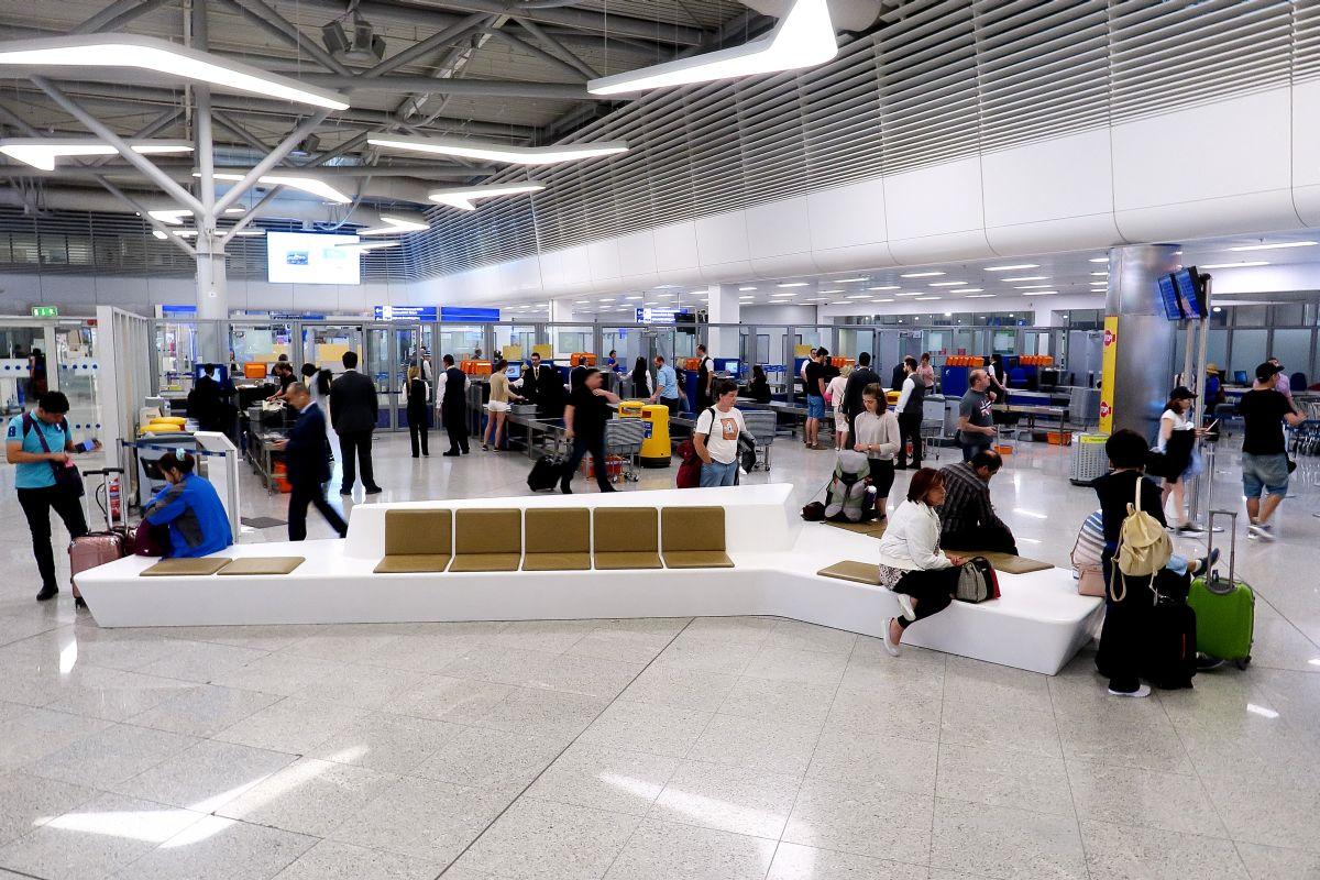 Athens international Airport Departures