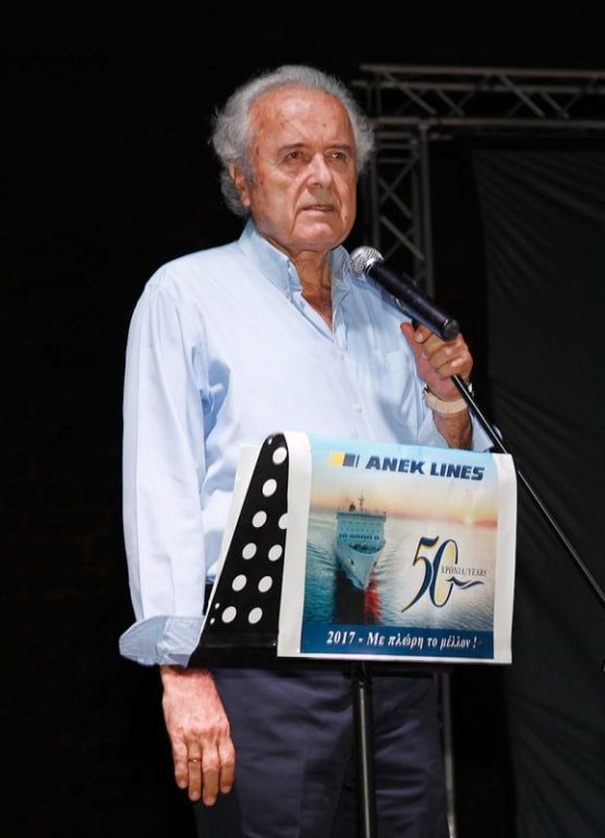 ANEK LINES President Giorgos Katsanevakis