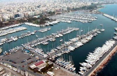Alimos Marina, Photo Source: Hellenic Republic Asset Development Fund