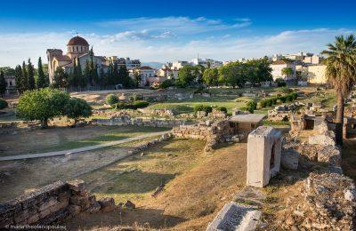 Kerameikos Archaeological Site, Athens © Maria Theofanopoulou
